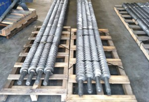 Small Diameter Furnace Screws Made with HT Alloy