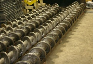 Large Diameter Furnace Screw Made with HT Alloy